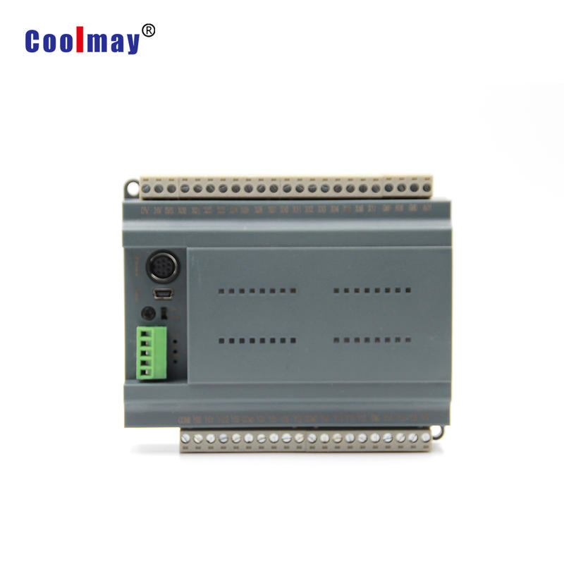 Coolmay high efficiency Transistor output PLC controller used in hot air seam sealing machine