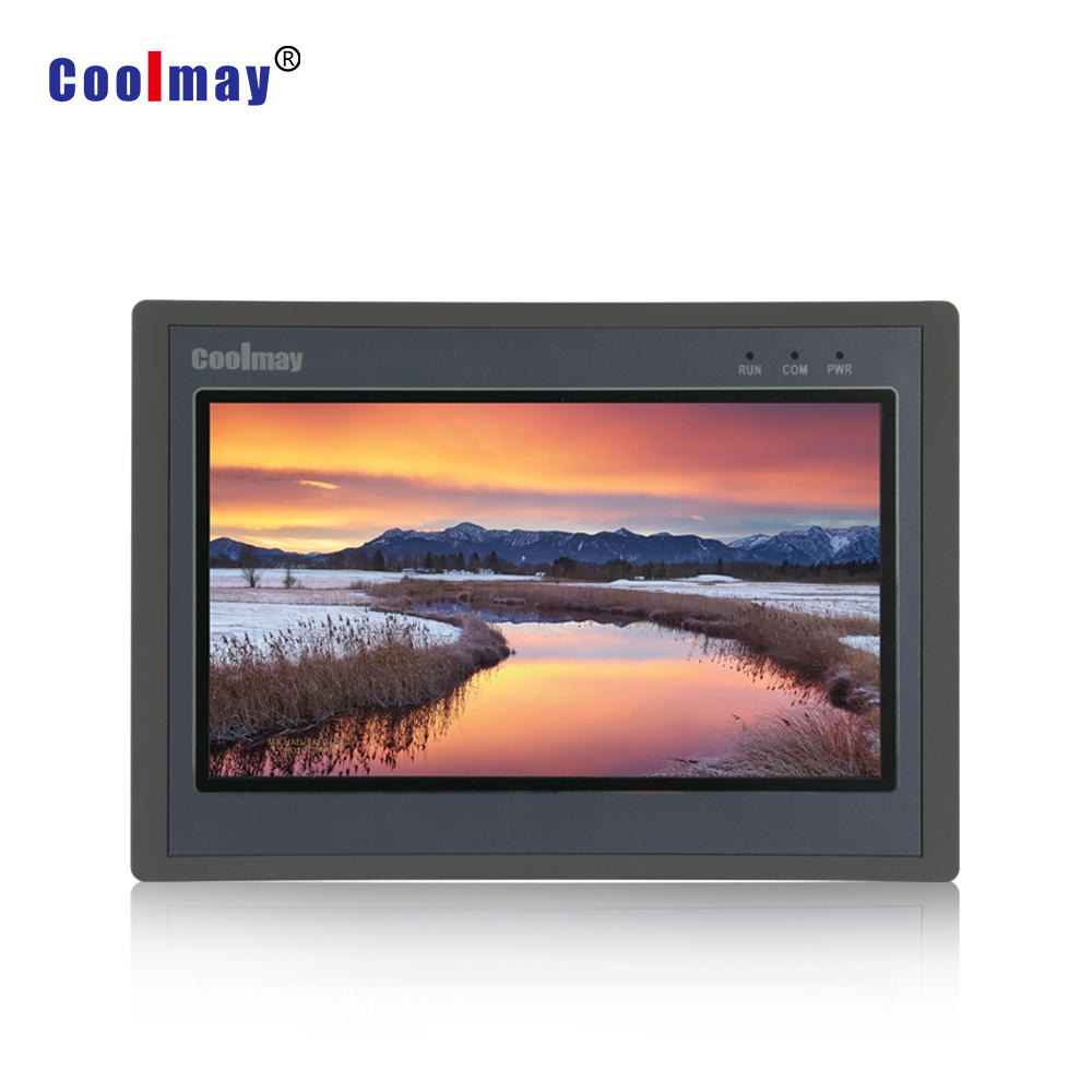 10 inch large size color touchscreen 12 relay outputs display with programmable controller used in hot air seam sealing machine