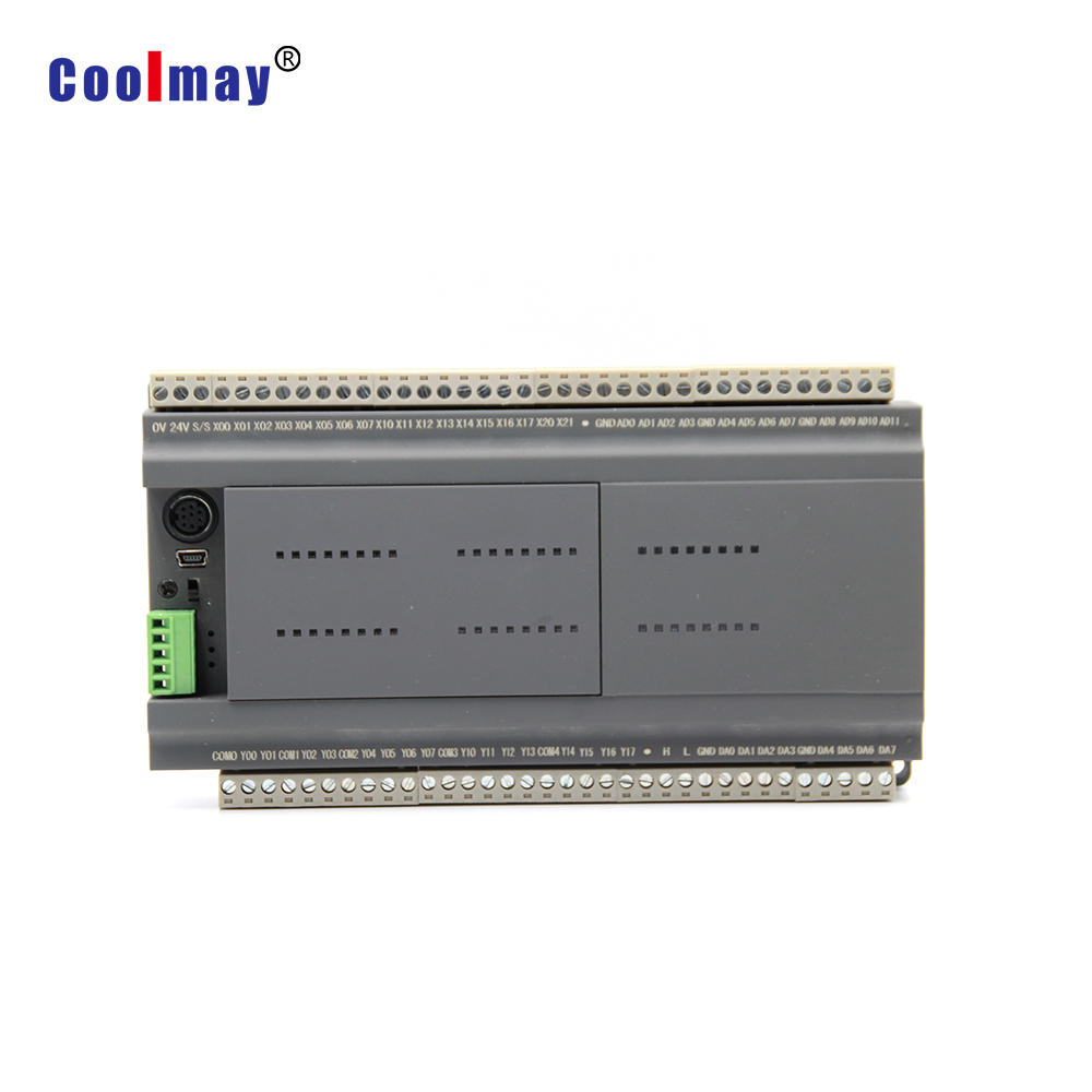 RJ45 Ethernet port made plc controller CX3G-48MR-485/485-W used in Smart Home System