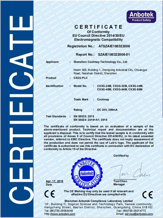 Coolmay Wholesale plc control board company for environmental protection engineering-1