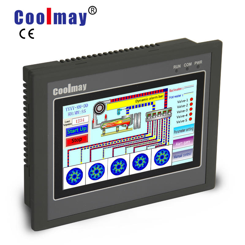 Coolmay Color Touchscreen HMI/ PLC All in One EX3G Series