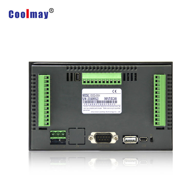 4.3 Inch PLC with HMI12DI 12DO relay optional high speed functions