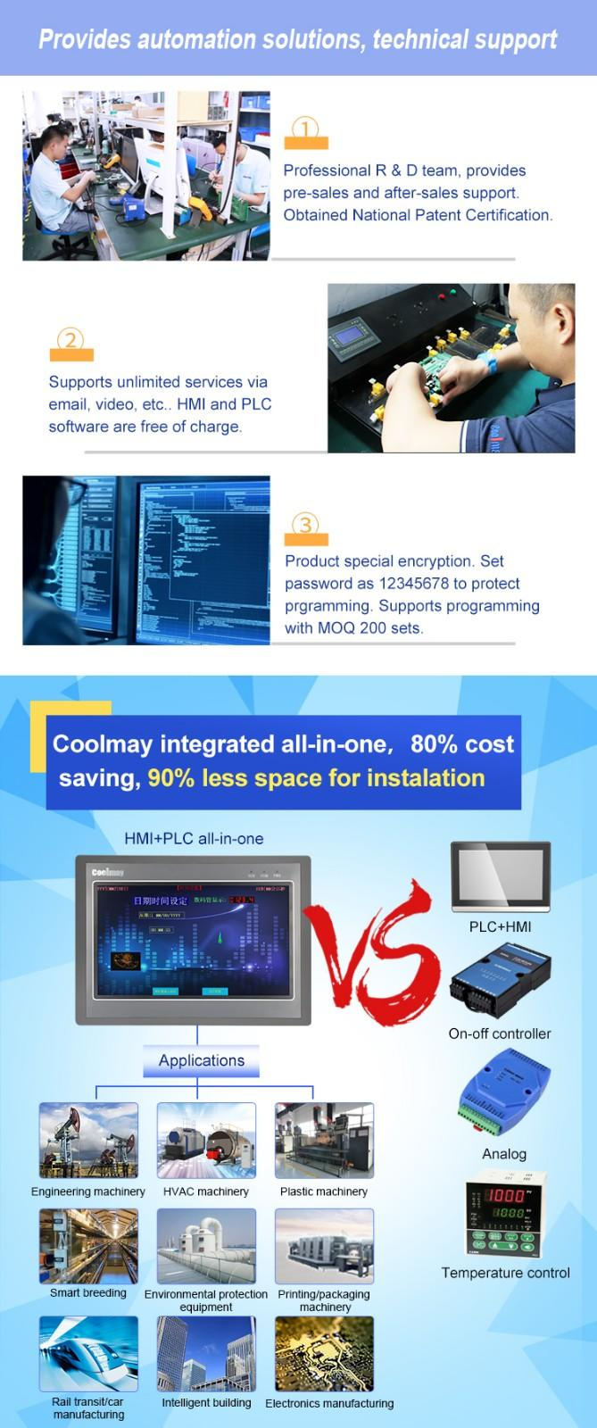 Coolmay coolmay plc relay factory directly for coal mining equipment