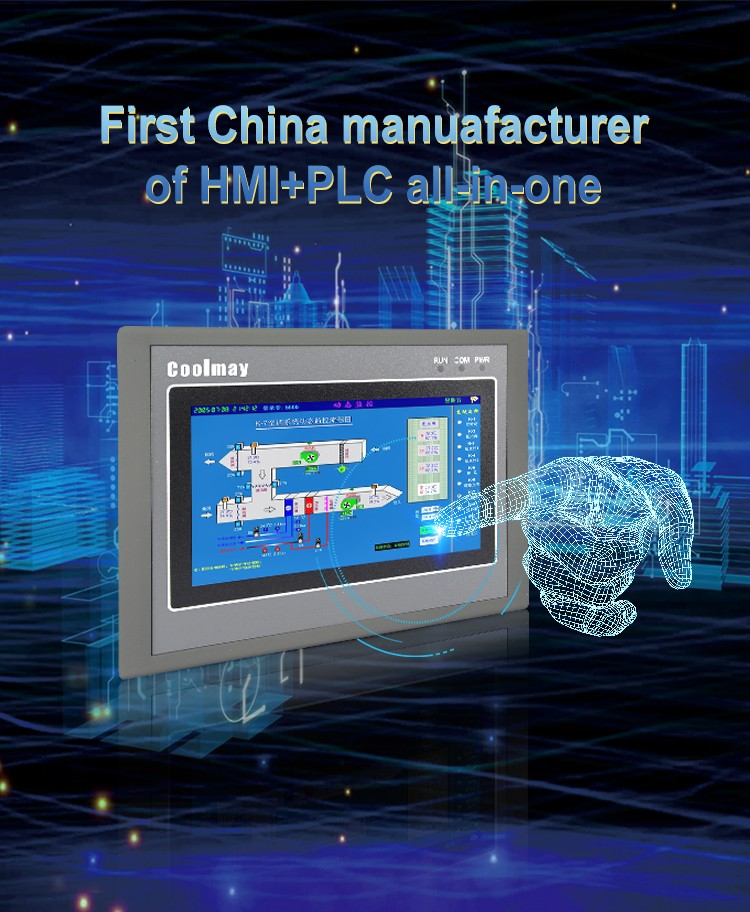 high-speed PLC HMI all in one oem for power equipment-9