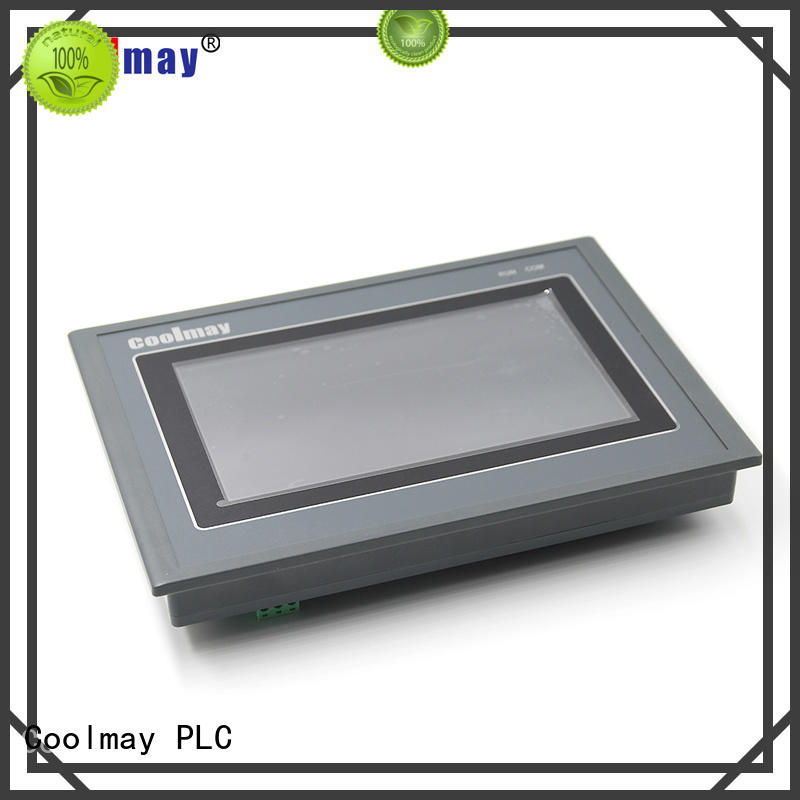 Coolmay programming plc panel factory directly for textile machinery