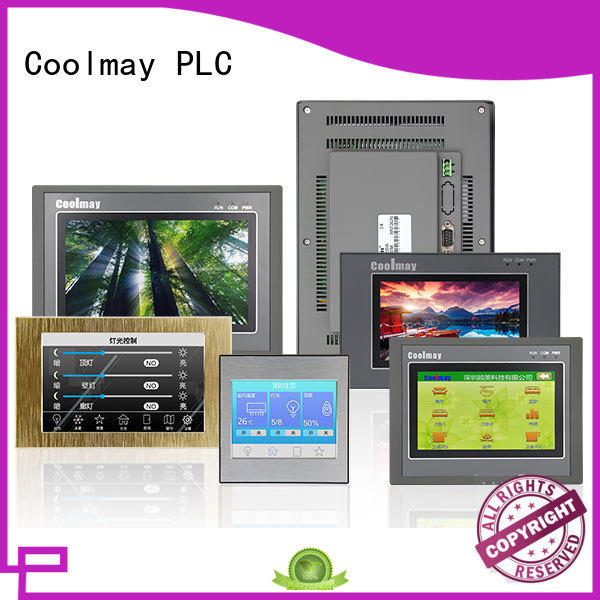 Coolmay custom hmi touch panel manufacturing for textile machinery
