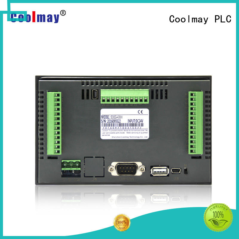 Coolmay plc hmi solutions for central air conditioning