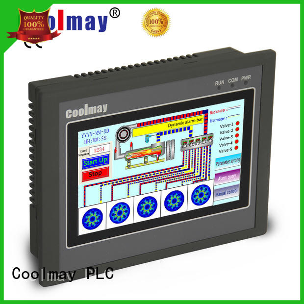 Coolmay high-speed PLC HMI all in one factory directly for central air conditioning
