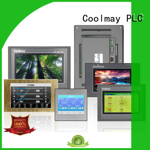 Coolmay optional size HMI mt6100ha for textile machinery