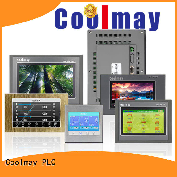 Coolmay rs232rs485 hmi touch panel bulk for packaging machinery