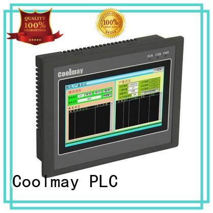 color plc with screen series for plastic machinery Coolmay