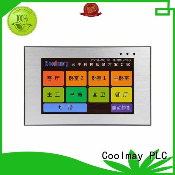 Coolmay high-tech hmi human machine interface solutions for printing machinery