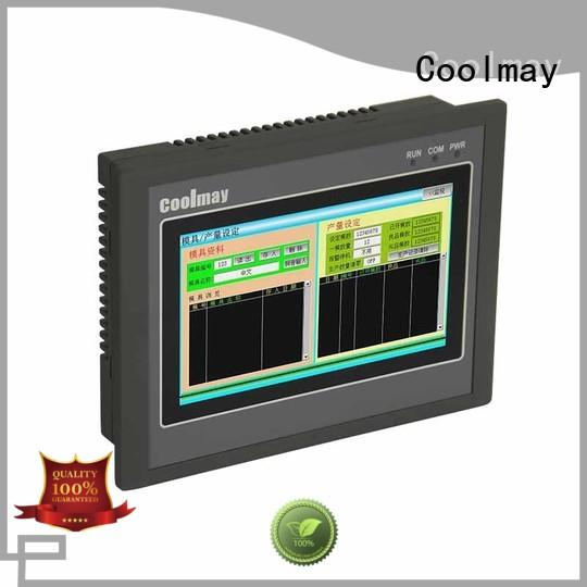 Coolmay touch screen plc computer for power equipment