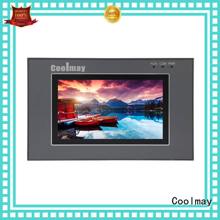 Coolmay durable plc with screen from China for HVAC machinery