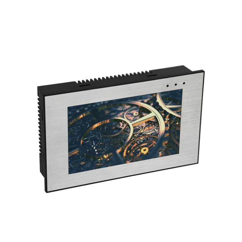 Coolmay PLC HMI all in one EX3G-50KH-24MRT PLC controller with 5 Inch Touch Screen