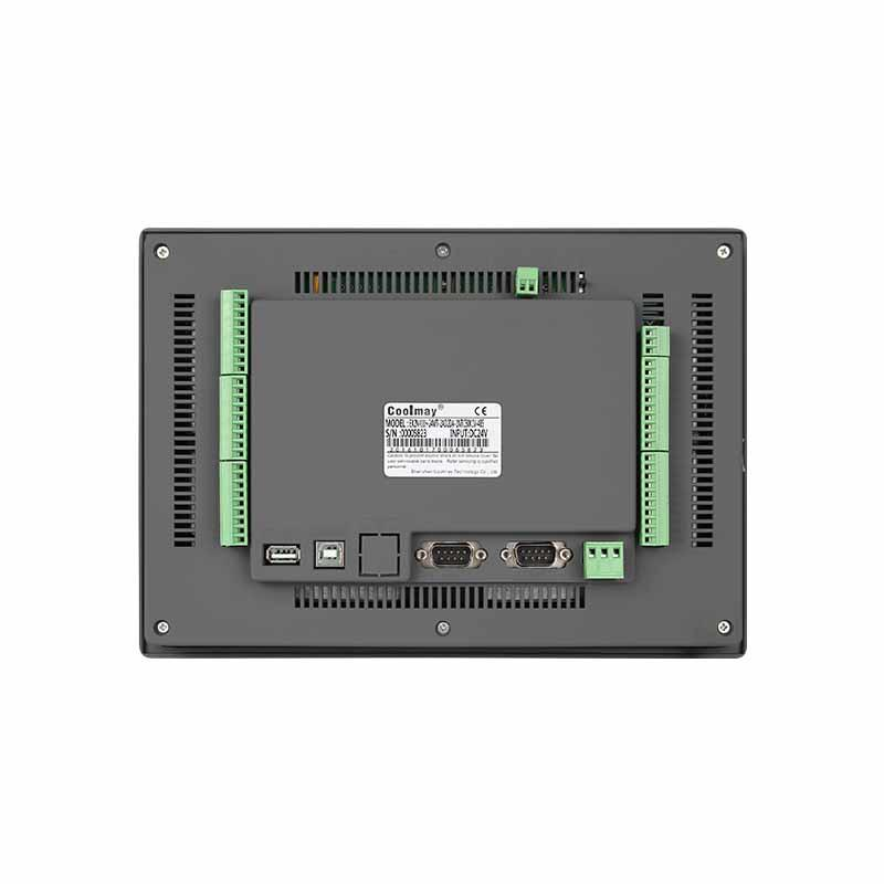 Coolmay PLC HMI all in one EX3G-100HA-44MRT PLC controller with 10 Inch Touch Screen