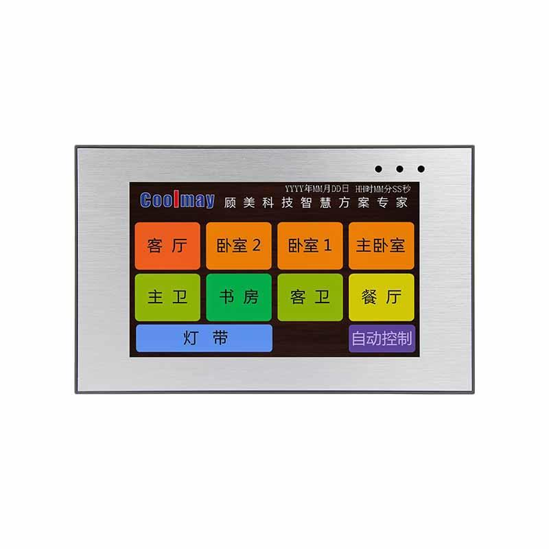 Coolmay HMI Touch Screen MT6050H(A) support Modbus with RS232/RS485 port(Thin Human Machine Interaction)