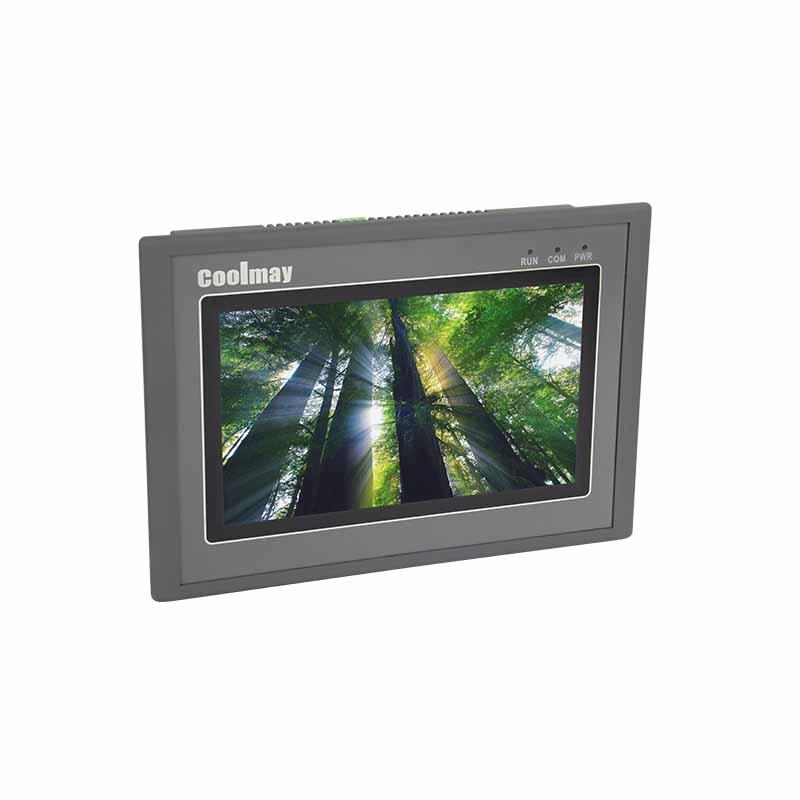 Coolmay HMI Touch Screen MT6070H(A) support Modbus with RS232/RS485 port(Thin Human Machine Interaction)