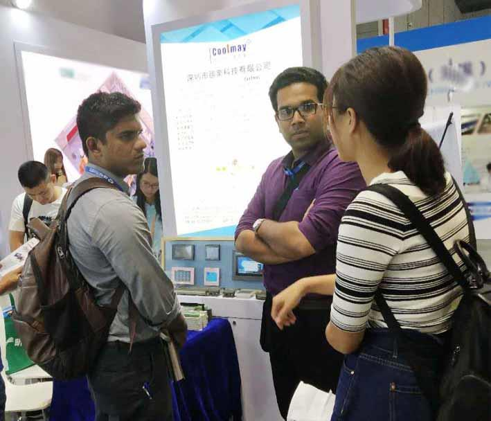 Coolmay product goes very big at Shanghai Industry Fair on September 19, 2018