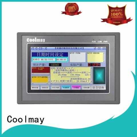 safe easy to operate pluggable terminals compact plc Coolmay Brand company