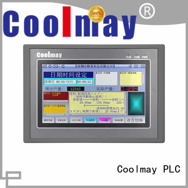 Coolmay plc hmi programming factory directly for textile machinery