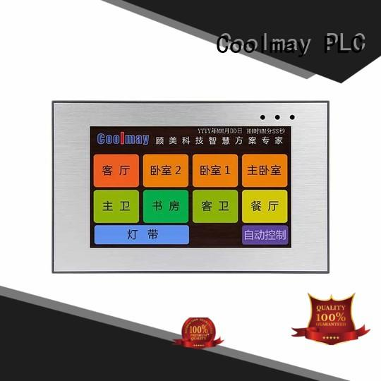 Coolmay high-end hmi device oem for packaging machinery