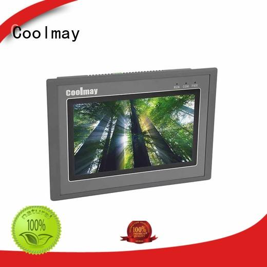 Coolmay advanced hmi lcd touch screen factory directly for textile machinery