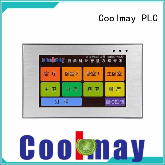 Coolmay durable tft hmi machine for packaging machinery