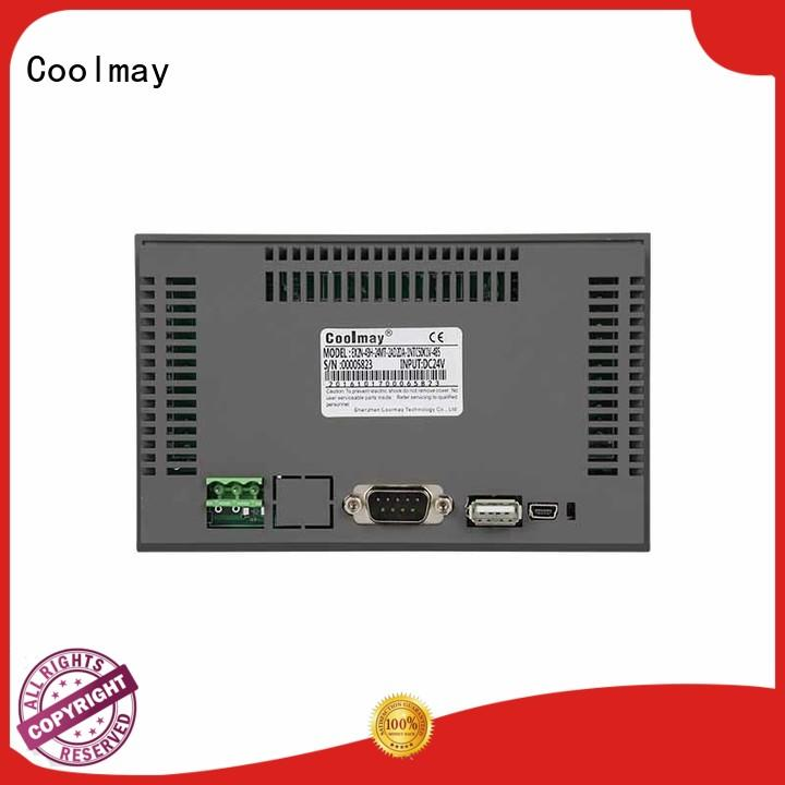 Coolmay reliable modbus hmi series for HVAC machinery