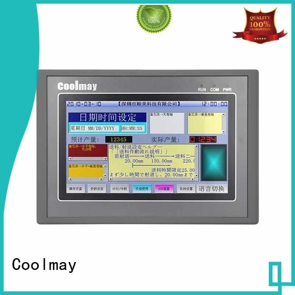Coolmay hmi control panel solutions for packaging machinery