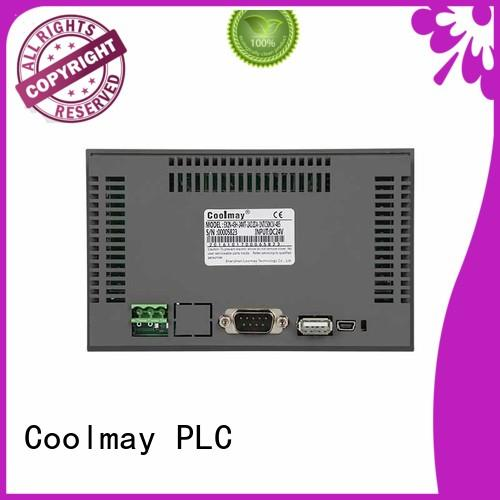 Coolmay tft hmi solutions for packaging machinery