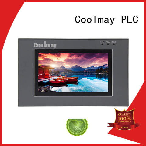 Coolmay PLC HMI all in one EX2N-43KH(A)-24MRT PLC controller with 4.3 Inch Touch Screen