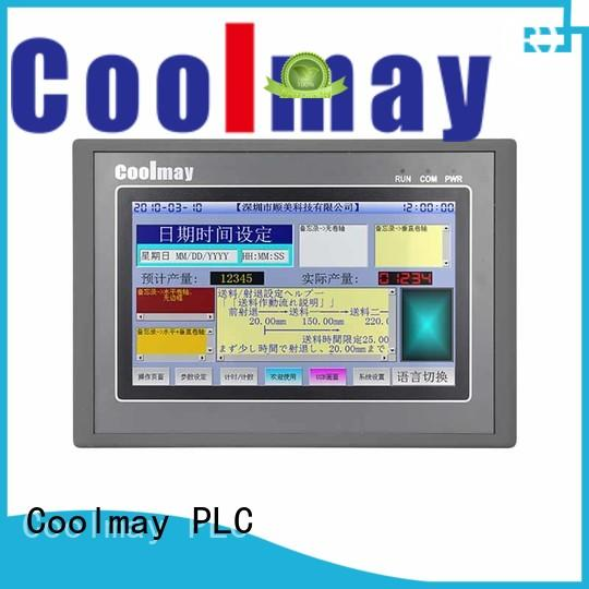 Coolmay plc panel manufacturing for textile machinery