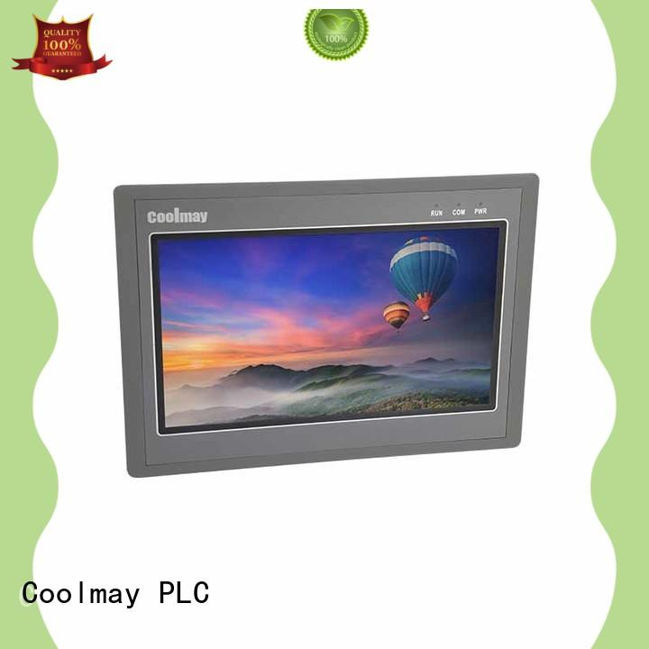 Coolmay pluggable hmi lcd display factory directly for printing machinery