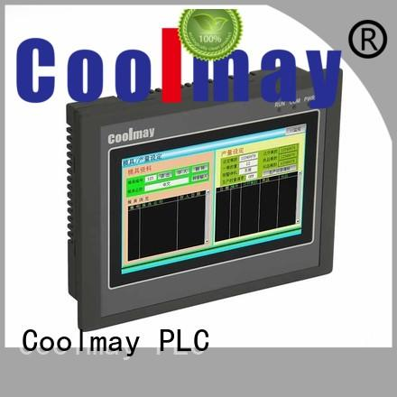 Custom pluggable terminals safe compact plc Coolmay controller