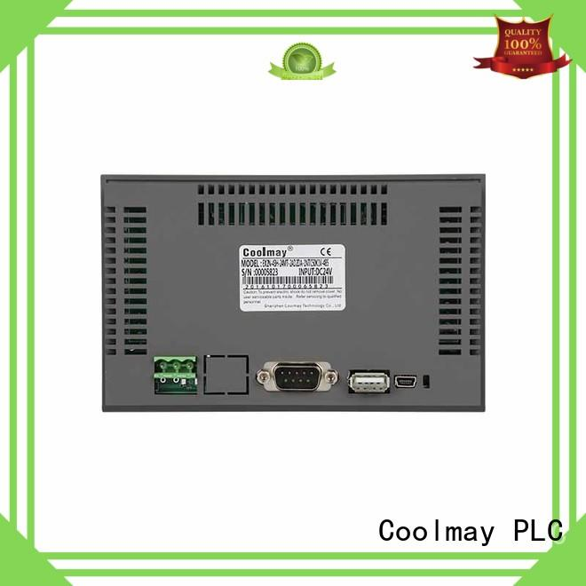 Coolmay portthin lcd hmi solutions for textile machinery