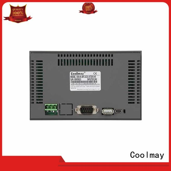 Coolmay modbus hmi touch panel directly sale for plastic machinery