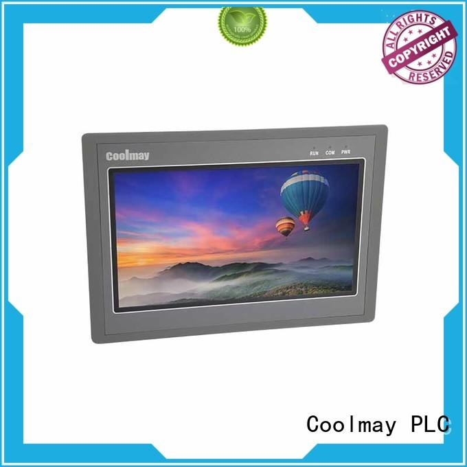 Coolmay easily dismount hmi lcd display factory directly for textile machinery