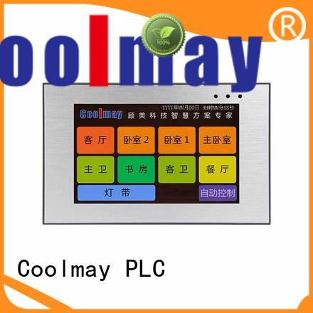 Coolmay durable hmi device factory directly for textile machinery