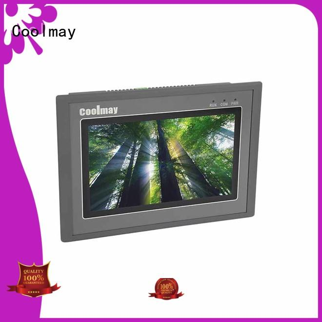 Coolmay reliable hmi can bus human for HVAC machinery
