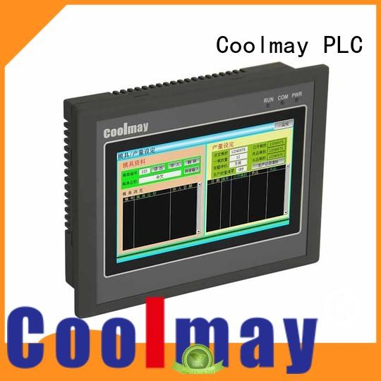 easy to install touch screen OEM compact plc Coolmay