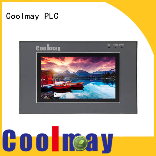 Coolmay all-in-one PLC with HMI oem for central air conditioning