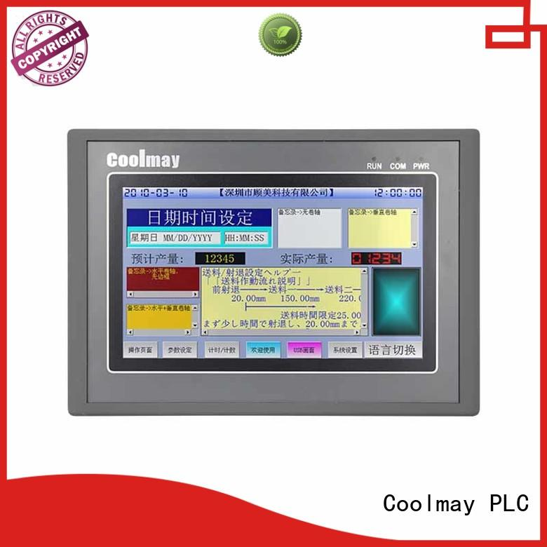 plc hmi programming for packaging machinery Coolmay