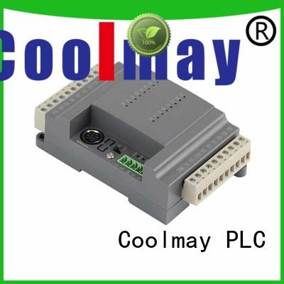 programmable logic controller specially encrypted flat appearance convenient to install Coolmay Brand company
