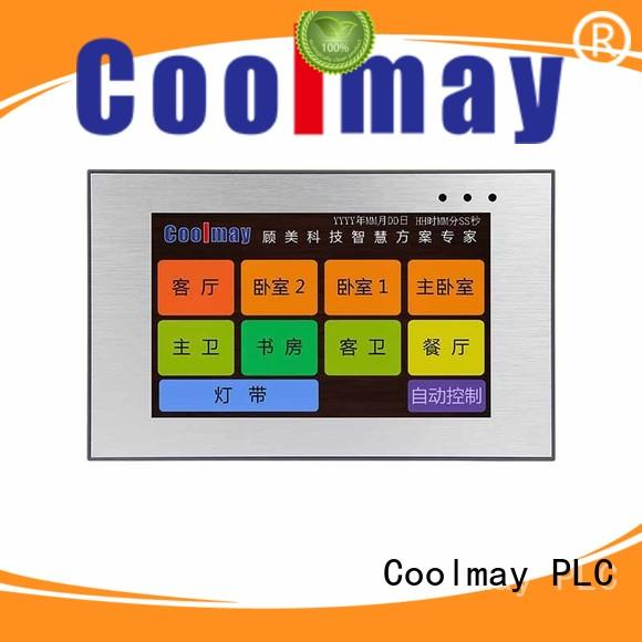 Coolmay hmi human machine interface odm for packaging machinery