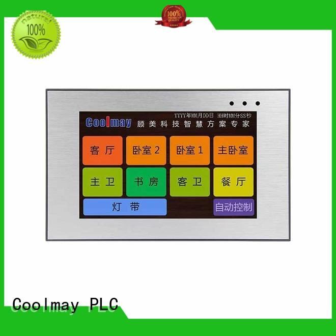 Coolmay reliable hmi touch panel from China for plastic machinery
