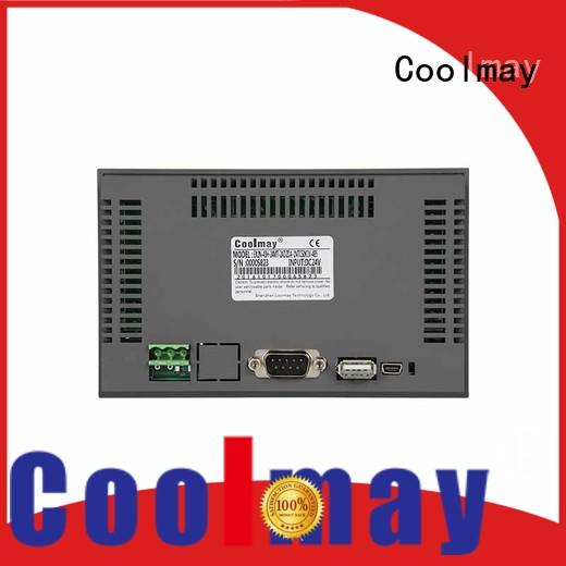 Coolmay human lcd hmi oem for packaging machinery