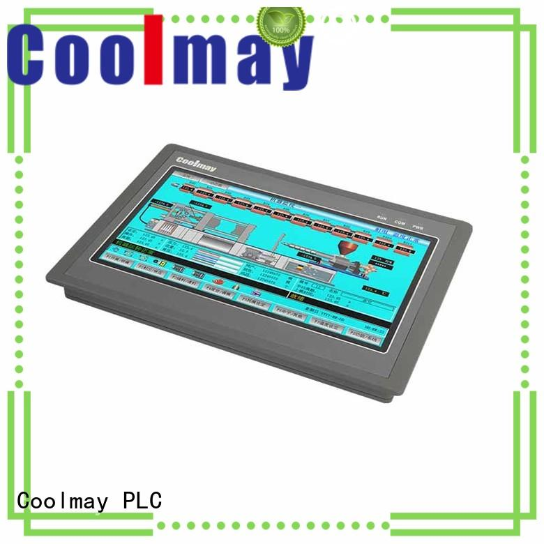 Coolmay reliable hmi interface bulk for textile machinery