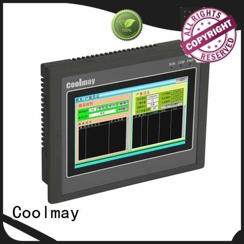 Coolmay touch screen plc hmi oem for coal mining equipment