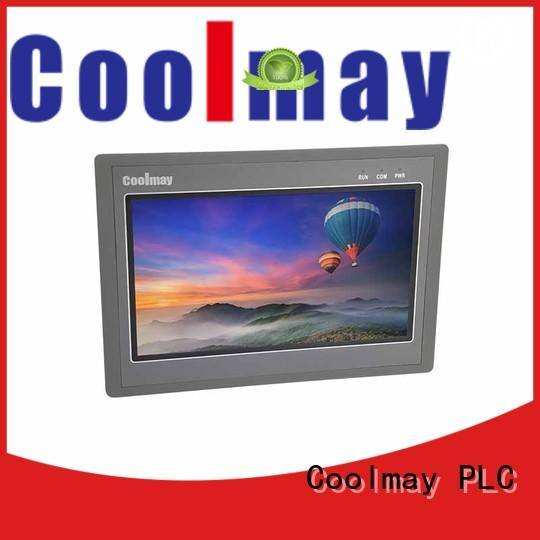 Coolmay easily dismount industrial hmi panels for textile machinery